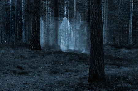 Spøkelse i Furulunden.